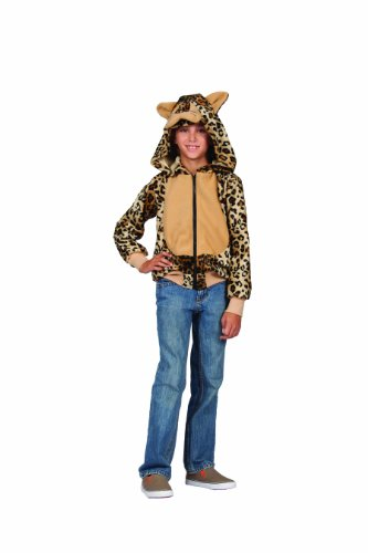 RG Costumes Lux The Leopard Hoodie Costume, Black/Brown, Small by RG Costumes - Lux Leopard
