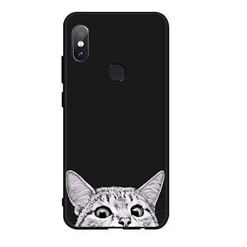 XMDSJKGC Hülle Handyhülle Weiche TPU Muster Silikon Telefon Case Für Xiaomi Redmi Note 5 Pro 5 Plus Note 5A Prime 4 4X Globale Mi A1 5X Fall Abdeckung, 01, Redmi Note 5A (64 Gb)