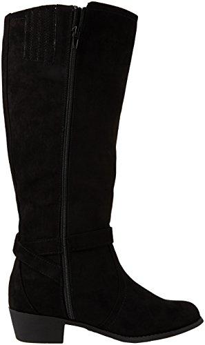 New Look 3821283, Stivali Alti Donna Nero (Black/01)
