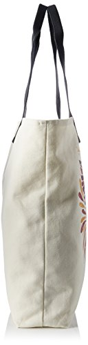 Volcom - Volcom Shore Thang Tote Handtasche Damen, cartella Donna Multicolore (Natural)