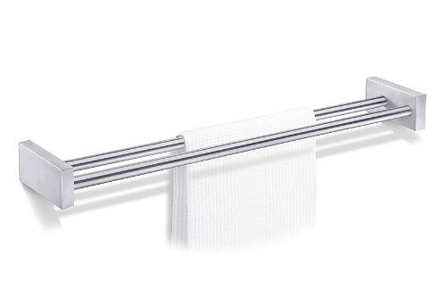 Zack 40144 60 cm Fresco Double Towel Rail