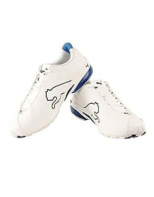 Puma Men's Jago Ripstop DP White and Black Running Shoes - 11 UK/India(46EU)