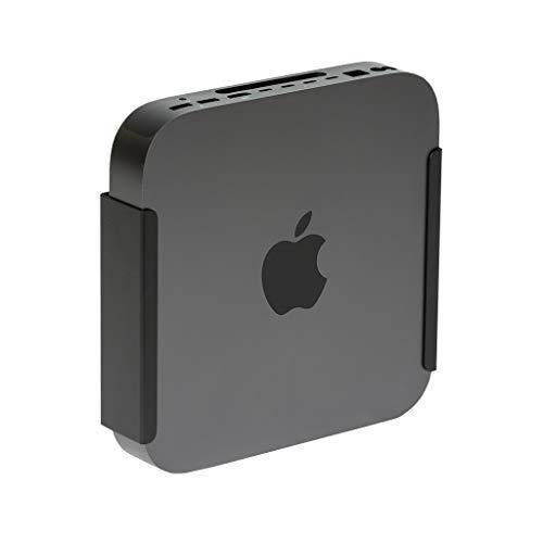 HIDEit MiniU Halterung für Mac Mini, VESA-Halterung, unter dem Schreibtisch, Schwarz