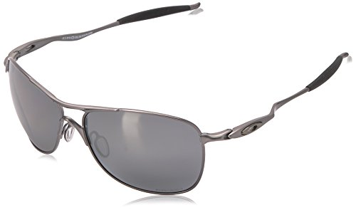 Oakley Herren Crosshair 406022 61 Sonnenbrille, Schwarz (Lead/Prizmblackpolarized),