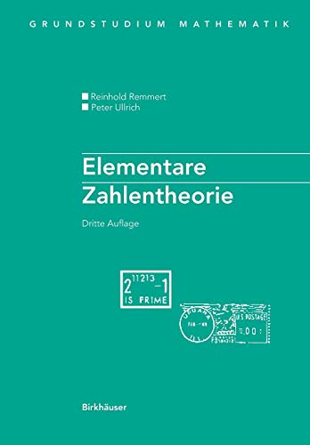 Elementare Zahlentheorie (Grundstudium Mathematik) (German Edition)