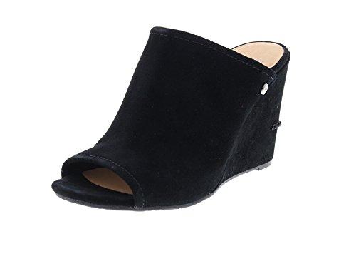 UGG Damenschuhe - Keil-Pantolette Lively 1019894 Black, Größe:40 EU