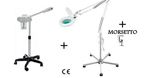 Vaporizzatore ozono + Lente d'ingrandimento 90 LED