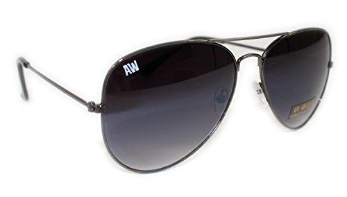 giftsbynet Herren Sonnenbrille schwarz schwarz