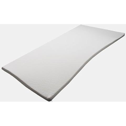 Pyramidenkönig Milano - Topper viscoelástico para colchón (dureza H3, 5 cm de grosor)