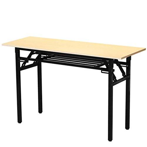 JHEY Klapptisch Konferenztisch Training Tisch Simple Desk Computer Desk Learning Esstisch (Größe :...