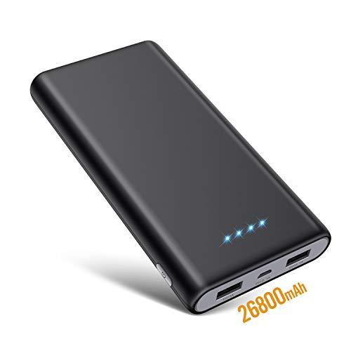 SWEYE Batería Externa 26800mAH Carga Rápida Power