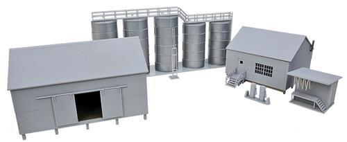Walthers Cornerstone 933-4059 - Zubehör - Ölhandel mit Tanks