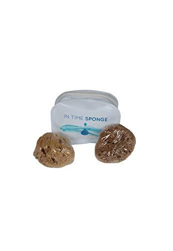 2 x Hygiene-Stempel aus Naturschwamm - In Time Sponge