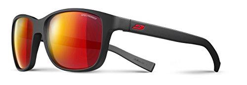Julbo Powell Sonnenbrille schwarz Noir Mat/Rouge Unisex