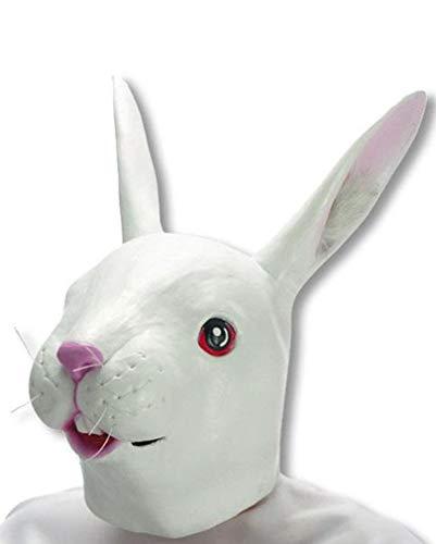 Weiße Kaninchen Maske (Alice Im Wunderland Kaninchen Kostüm Kind)