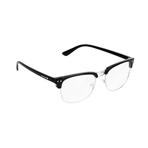 unisex-retro-plain-glasses-eyeglasses-black-half-frame