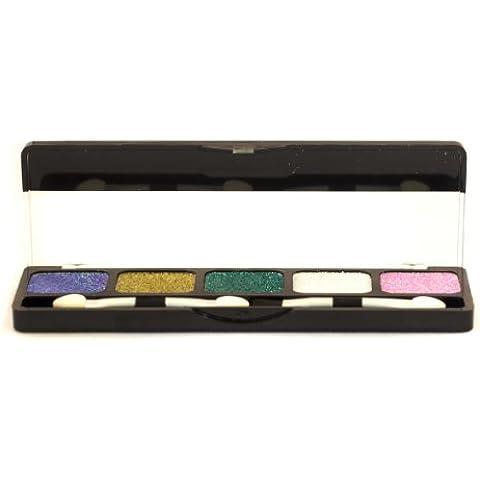 NYX Cosmetics Paleta Sombra de Ojos Sombra de Ojos Brillante Bronce Surrealista