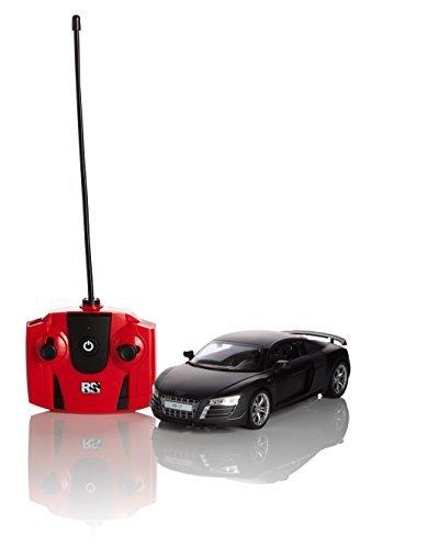 audi-r8-gt-remote-radio-controlled-model-car-124-scale-in-matt-black-white-and-red-matt-black