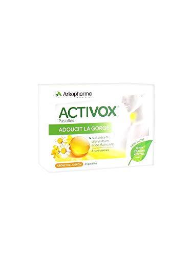 Activox Acerola Fruits Rouges 24 pastilles Arkopharma