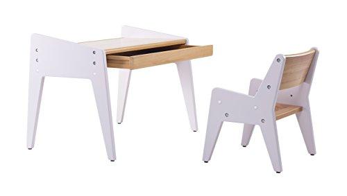 Sparen Sie 11 Bamby Massiv Buche Natur Holz Kinder Tisch Und Stuhl