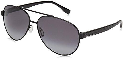 BOSS Hugo 0648/F/S HD 10G 64 Montures de lunettes, Noir (Mtblk Black/Grey Sf), Homme