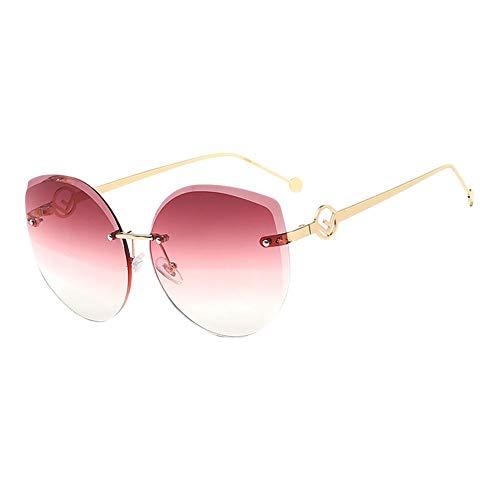Xuxuou 1 Stück Reflektierende Sonnenbrille Für Farbfilm Sonnenbrillen Skibrille Fahrradbrille Fahrerbrille Runder Rahmen Rahmenlose Brille