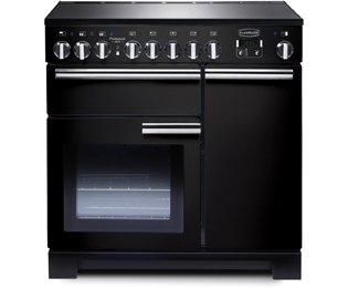 Rangemaster Professional Deluxe PDL90EIGB/C 90cm Electric Range Cooker with Induction
