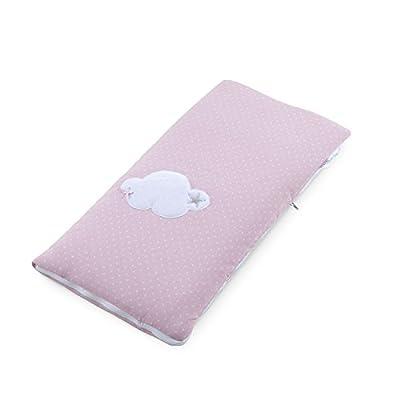 Funny Baby Codream - Saco-colcha minicuna colecho, diseño motitas nube, color rosa