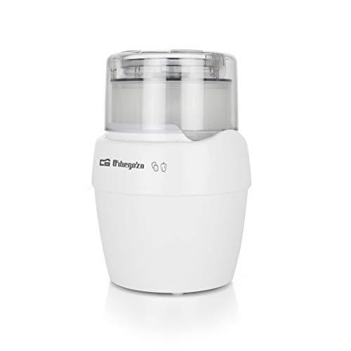 Orbegozo MC 4550 - Picadora eléctrica de alimentos, libre de BPA, 0,6 litros de capacidad, accionamiento mediante presión, 800 W de potencia