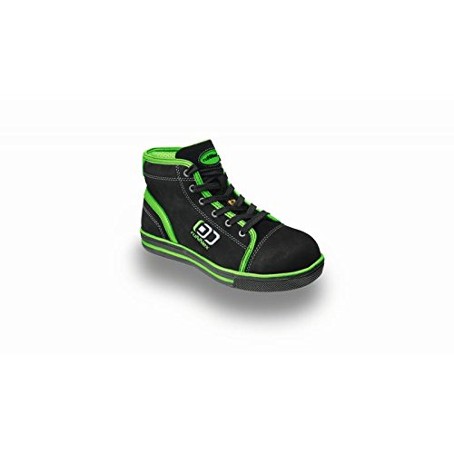 RuNNex chaussures de sécurité eSD s3 5345 «sportStar sportif et léger, noir, noir, 5345