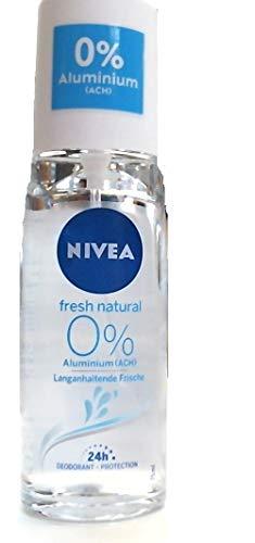 NIVEA Fresh Natural Deo Zerstäuber im 1er Pack (1 x 75 ml), Deo ohne Aluminium für ein erfrischtes Hautgefühl, Deodorant mit 48h Schutz pflegt die Haut