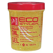 Soft-hold Gel (Eco Styler Hair Gel Moroccan Argan Oil Styling Gel Soft Hold 946ml)