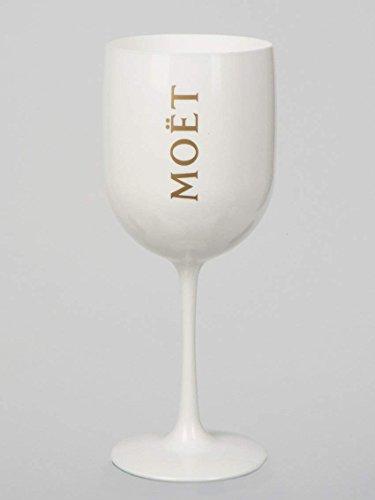 Moet Moët Chandon 1 x Acryl Kunststoff Champagne Cup Champagner Becher Kelche Flutes
