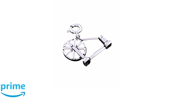 Buy fourseven Sterling Silver Pendant in 925 Charkha Charm