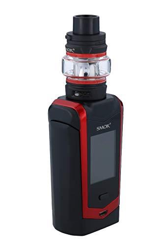 Original SMOK V2 Species Kit Kein Nikotin 230W Eingebaute Mod mit 5ml TFV8 Baby V2 Tank E-Zigarette Verdampfer (Schwarz und Rot)