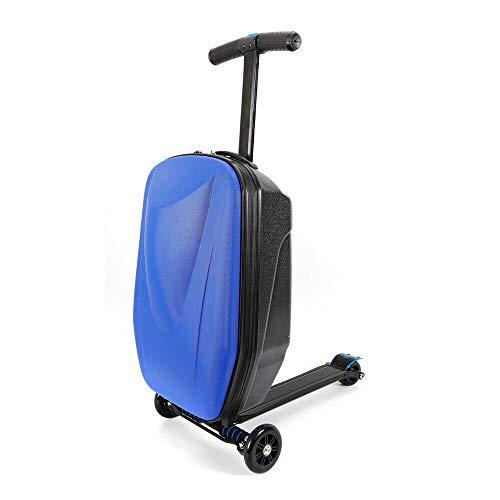 MOMOJA - Valigia pieghevole per monopattino, 50,8 cm Blu Dark Blue 20\'\'