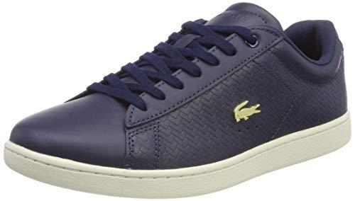 Lacoste Damen Carnaby Evo 119 3 SFA Sneaker, Blau (NVY/Off Wht J18), 41 EU