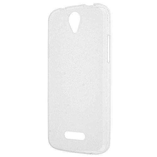 Easbuy TPU Transparent Silikon Tasche Case Etui Cover Hülle für DOOGEE X6 / X6 Pro