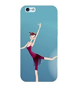 Printtech Ballet Dancer Girl Back Cover Case for Apple iPhone 6Plus / 6S Plus