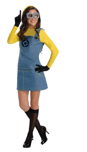 Despicable Me Female Minion Damen Kostüm (Minion Kostüme Erwachsene)