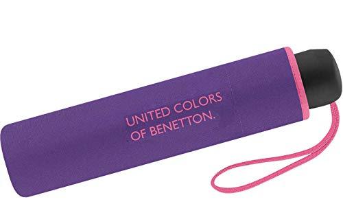 United Colors of Benetton Paragua clásico Morado