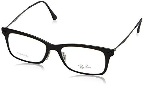 Ray-Ban Unisex-Erwachsene Brillengestell 0rx 7039 2077 53, Schwarz (Matte Black)