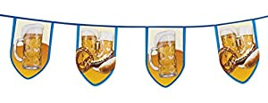 Boland 54251-filare banderines Fiesta de la cerveza, azul/blanco