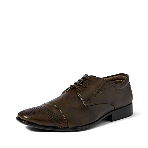 Centrino Men's Coffee Formal Shoes-9 UK/India (43 EU)(2610-001)