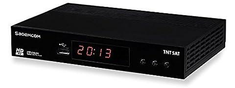 SAGEMCOM - TNTSAT DS81HD Récepteur TV Satellite HD - Noir
