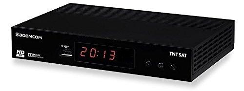 Sagemcom DS81 HD Satélite Negro tV set-top boxes