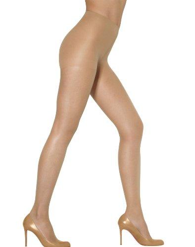 Leggs Suntan Sheer Energy Active Support Pantyhose, Size - Q, Large - Queen Pantyhose