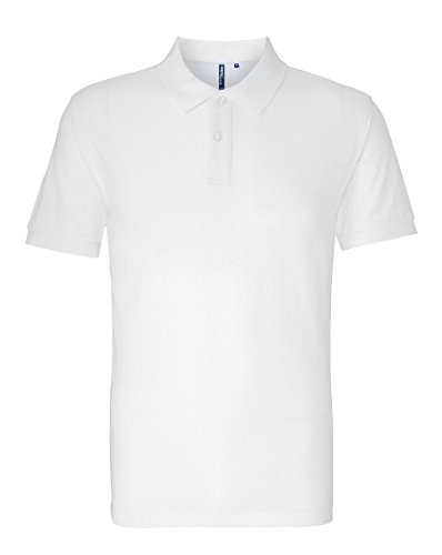 Asquith Fox Herren Poloshirt Weiß
