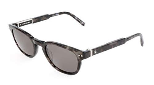 Montblanc Herren Mont Blanc Sunglasses Mb693S 55D-50-22-145 Sonnenbrille, Grau, 50