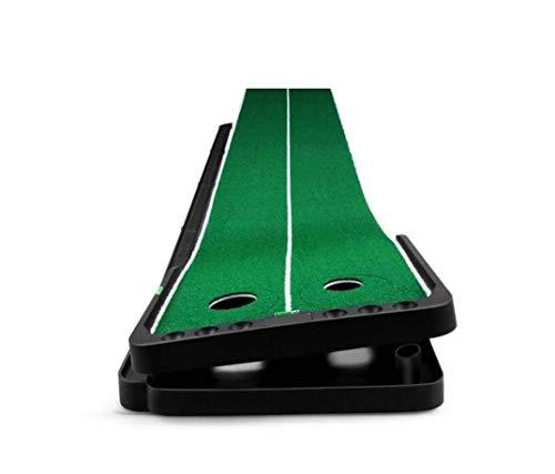 V.JUST Indoor Golf Putting Mat Einstellbare Steigung Outdoor Auto Ball Return Professionelle Tragbare Putting Trainer Set Mini Trainingshilfen